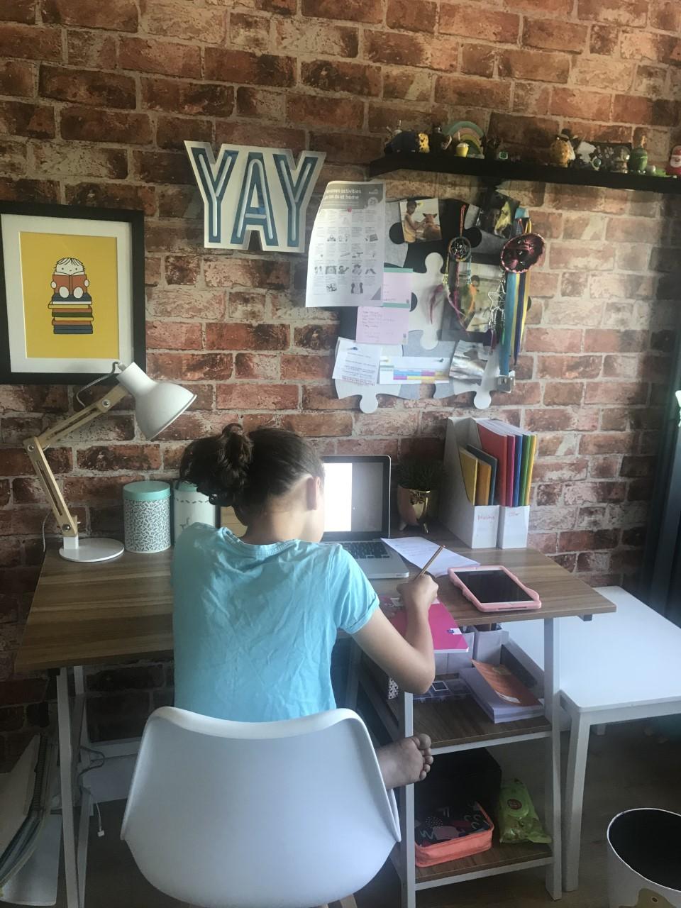SC (Y5) at desk