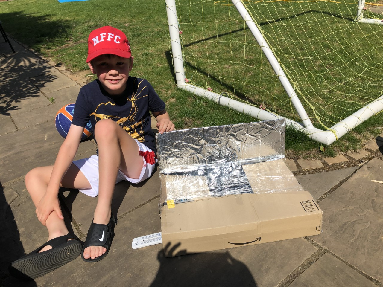 WH (Y4) solar oven