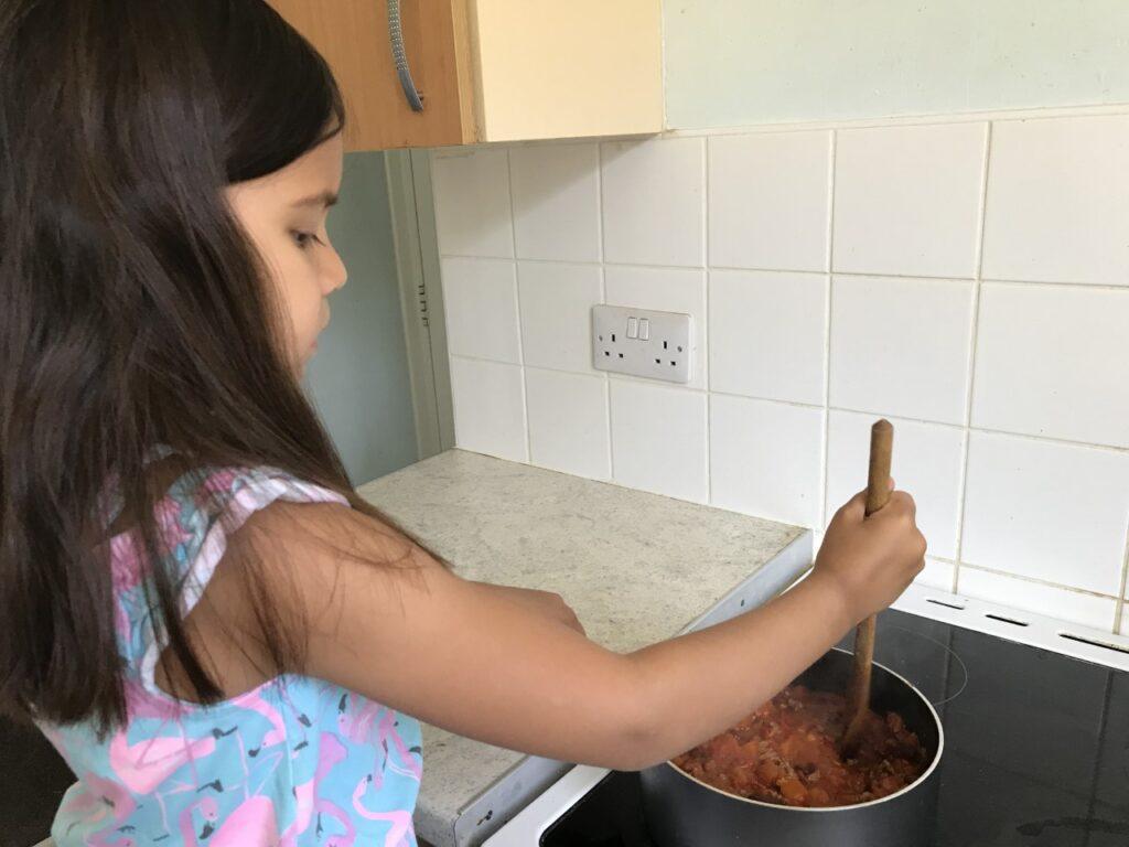 AMN (Y2) cooking