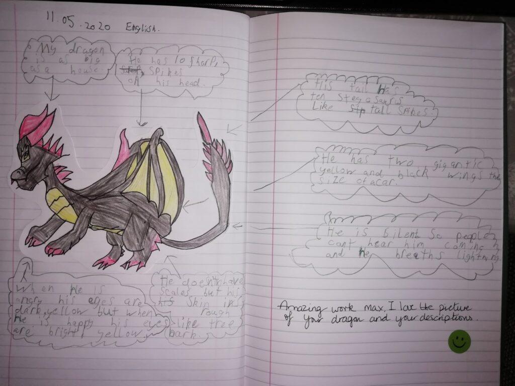 ME (Y2) dragon work